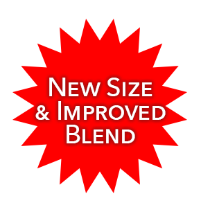 New size and improved blend
